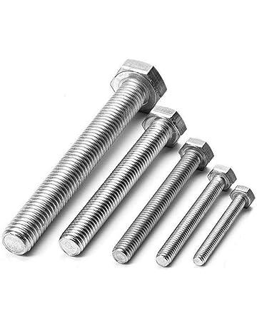 Edelstahl V2A 2 Stk Sechskantschraube DIN 933 M12 16 bis 200 mm