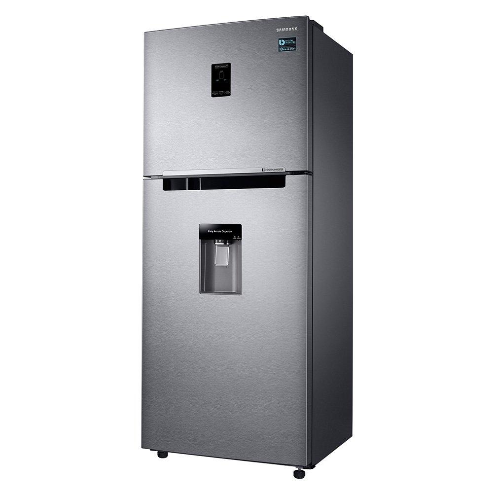 Samsung RT35K5932SL/EM Independiente 361L A+ Acero inoxidable nevera y congelador - Frigorífico (361 L, A+, Compartimiento de zona fresca, ...
