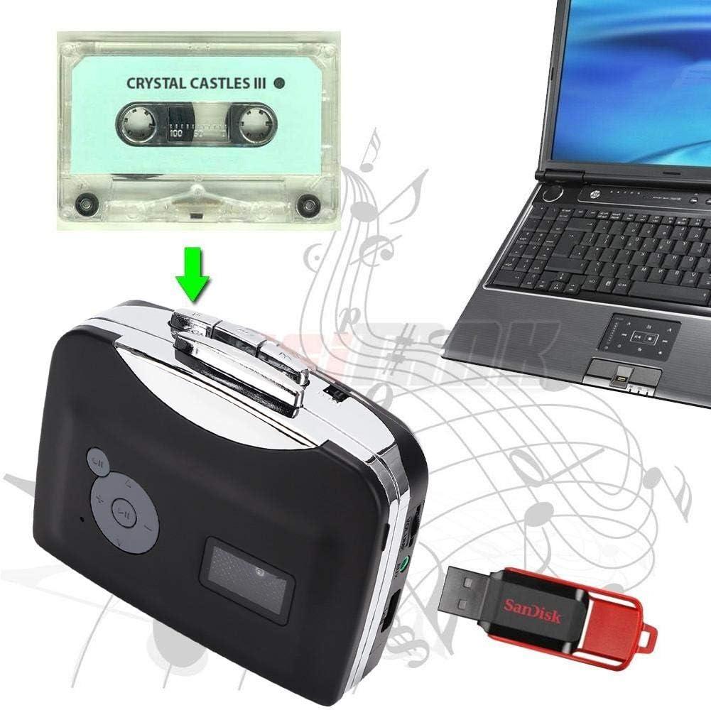 Socobeta Cassette to MP3 Converter EZCAP230 Stereo USB Cassette ...