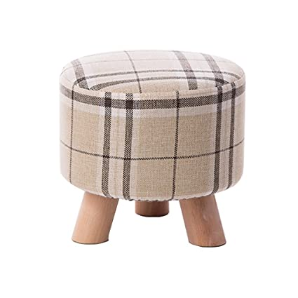 Amazing Amazon Com Stool Foot Stool Upholstered Footrest Round Pdpeps Interior Chair Design Pdpepsorg
