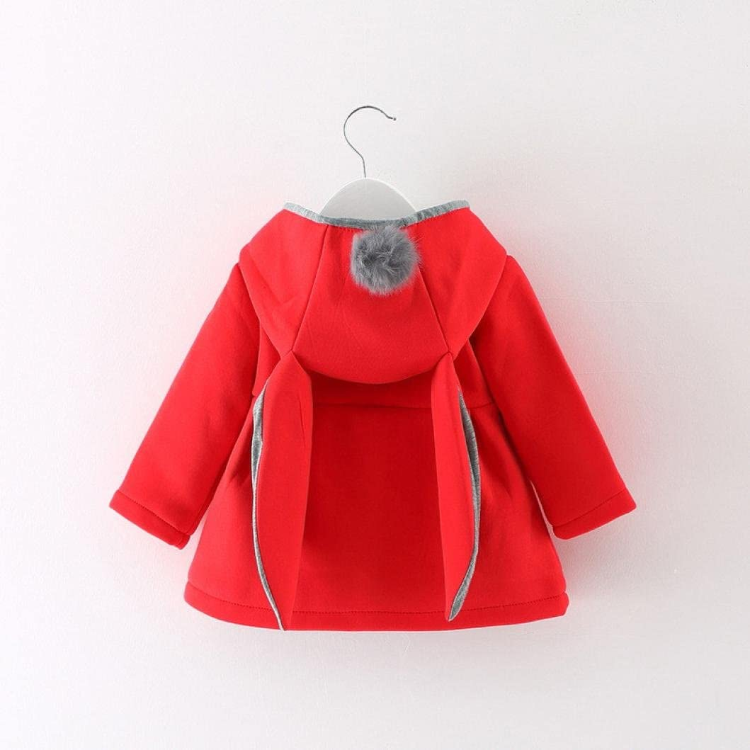 Witspace Infant Baby Girls Winter Warm Coat Cloak Toddlers Thick Jacket Clothes