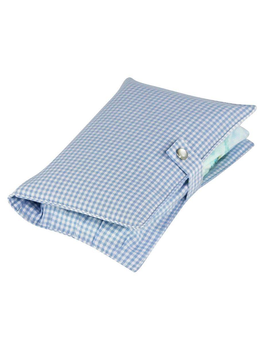 Bolso peque/ño para pa/ñales de tela boubalou Little Blue