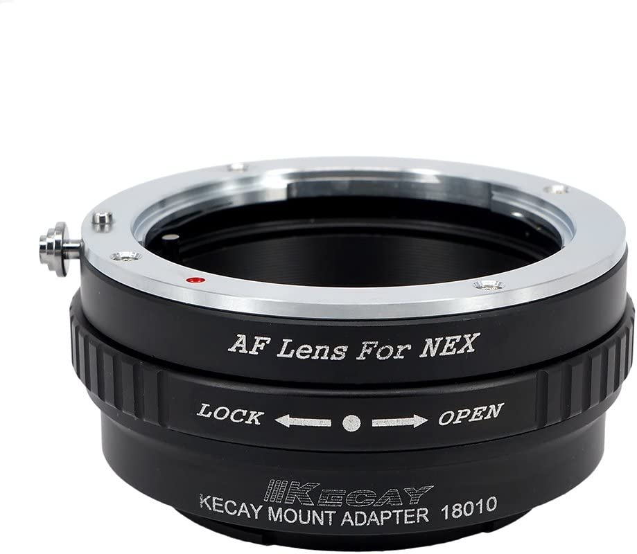 Adapters & Converters Sony/Minolta MA AF Mount Lens to Sony NEX E ...