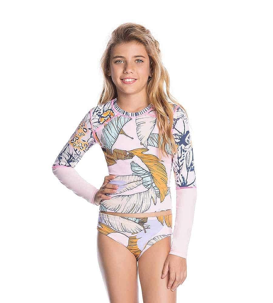 Maaji Flamingo Parade Girls Rashguard Bikini