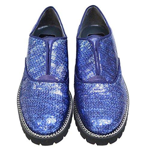 KI5641 Blucher Kanna Azul Zapato Mujer qgwAAtR