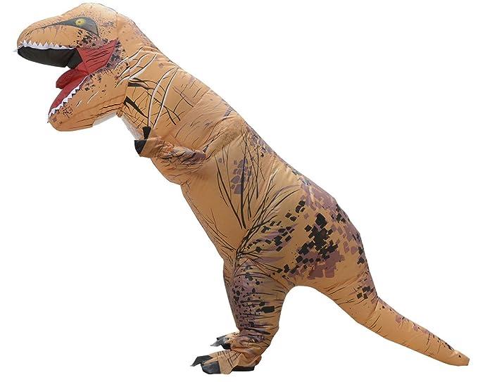 LaoZan T-Rex Traje inflable para adultos Disfraz de Halloween