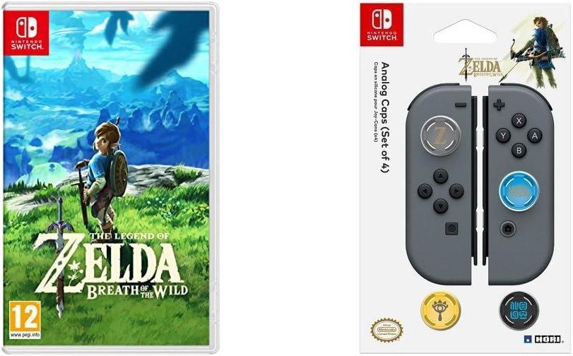 The Legend Of Zelda: Breath Of The Wild + Hori - Grips Zelda para ...