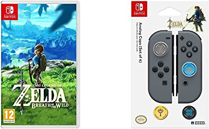 The Legend Of Zelda: Breath Of The Wild + Hori - Grips Zelda para Nintendo Switch: Amazon.es: Videojuegos