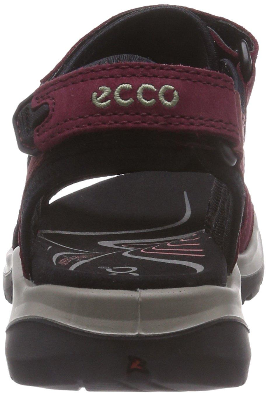 ECCO Women's 39 Yucatan Sandal B00OAUSKBW 39 Women's EU/8-8.5 M US Morillo/Port/Black 5b9b4e