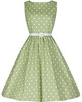 Lindy Bop 'Audrey' 1950's Inspired Polka Dot Swing Dress