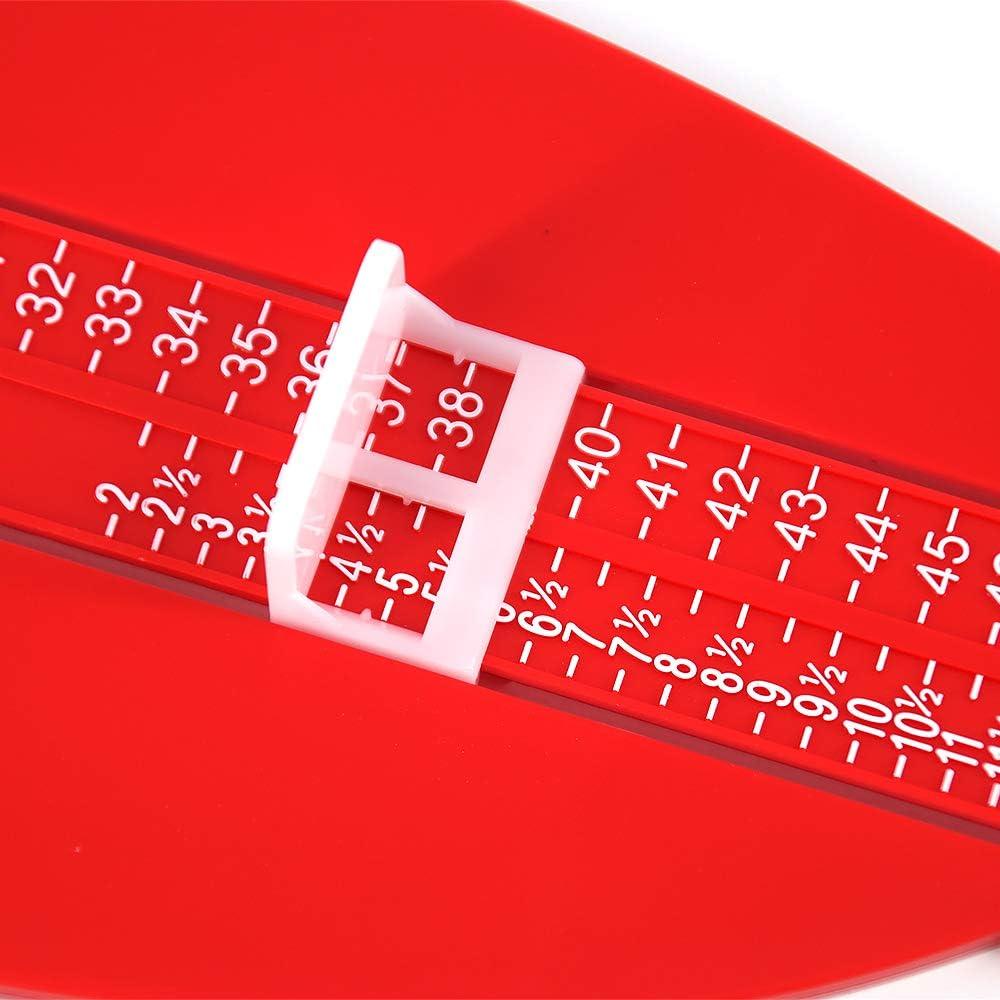 Skystuff Mesure de pied pour enfants UK Outil de mesure de pied pour adulte et b/éb/é Outil de mesure de chaussures pour enfants 2-12 //EU 18-47