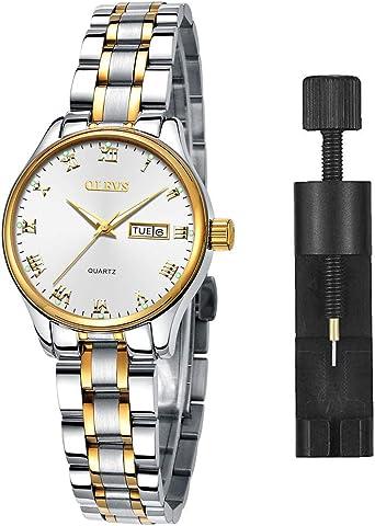 Amazon.com: Relojes luminosos para mujer, relojes para mujer ...