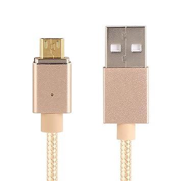 EdBerk74 Micro USB Cable de Carga magnética Cable de Carga ...