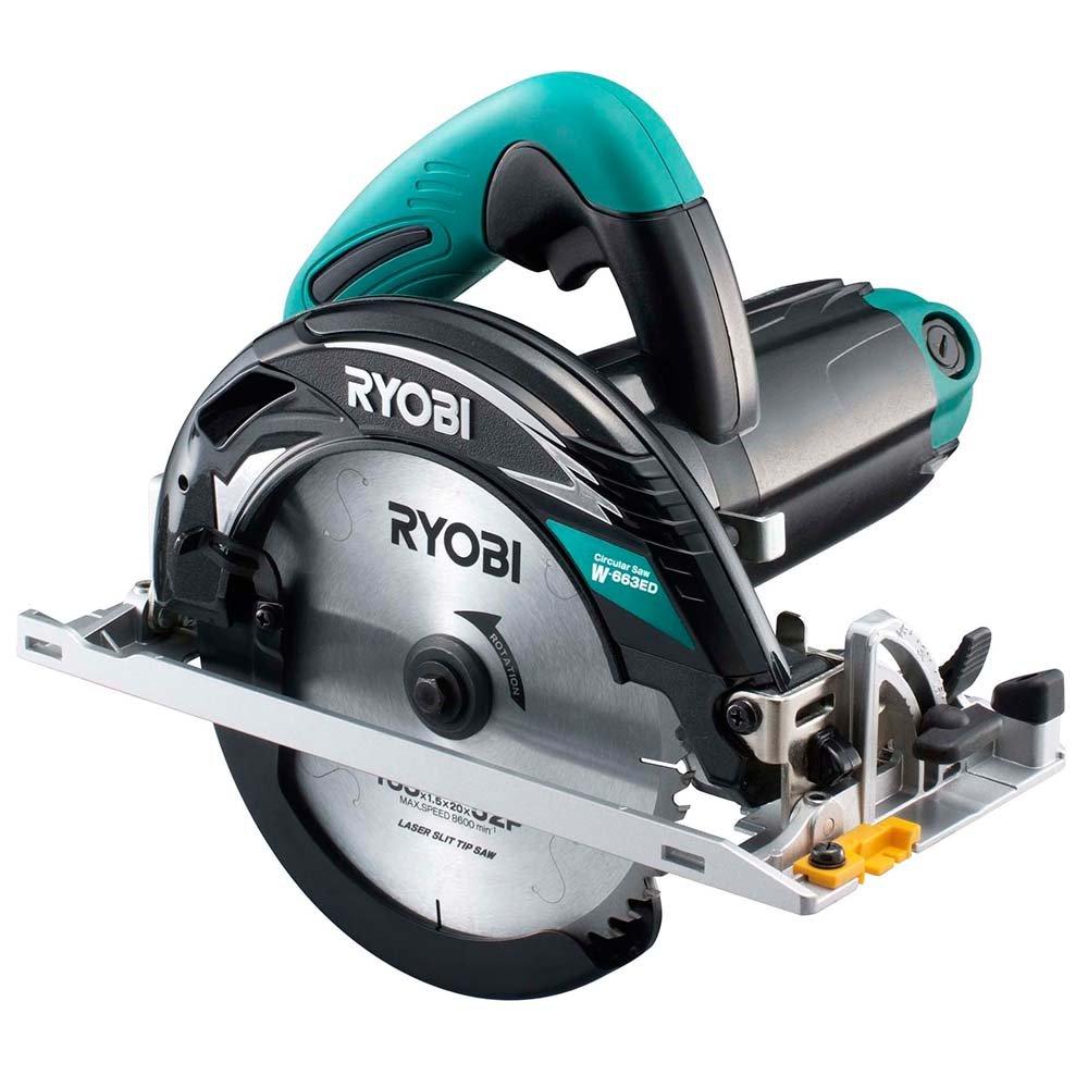 リョービ(RYOBI) 電子丸ノコ チップソー付 W-663ED 611020A