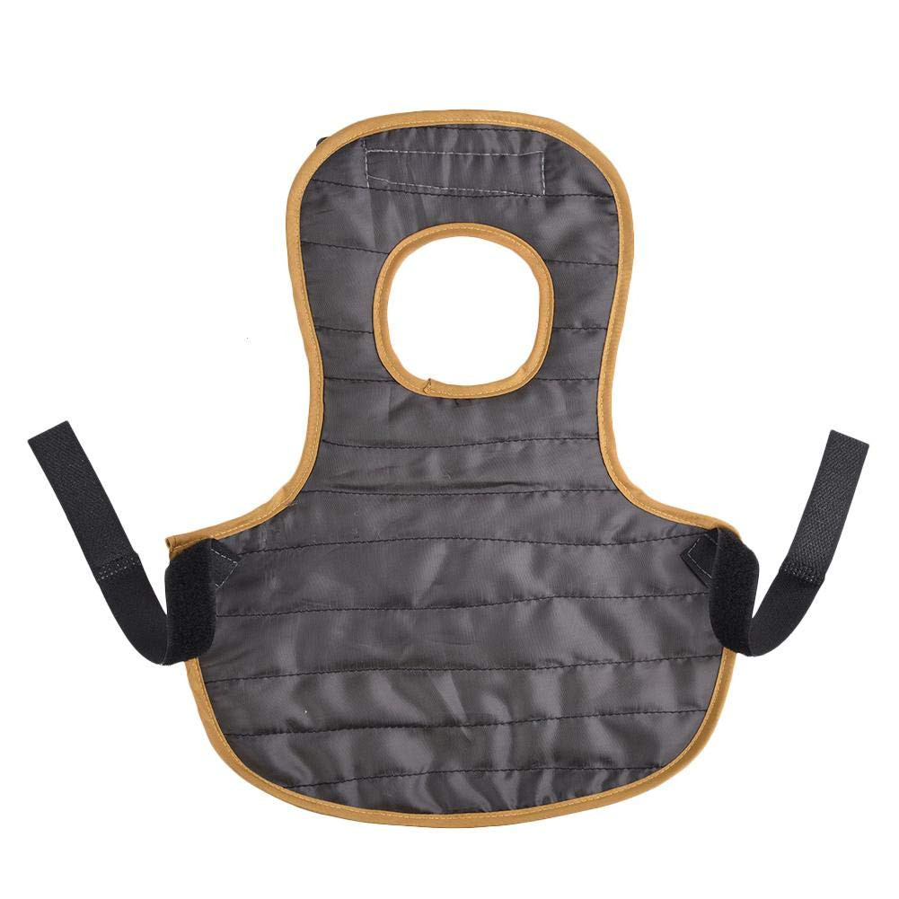 Pet Reflective Vest Chicken Clothes Safety Reflective Vest Poultry Hen Saddle Apron Feather Protection Holder for Chicken and Duck Back Feather