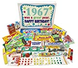 Woodstock Candy 1967 51st Birthday Gift for Women and Men - Nostalgic Retro Candy Box Assortment from Childhood for 51 Year Old