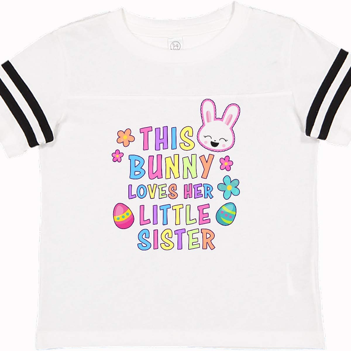 inktastic This Bunny Loves Her Little Sister with Bunny Face and Toddler T-Shirt