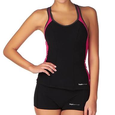 9abd34e65e59a Freya Blaze Tankini Swim Top (AS3184) at Amazon Women's Clothing store: