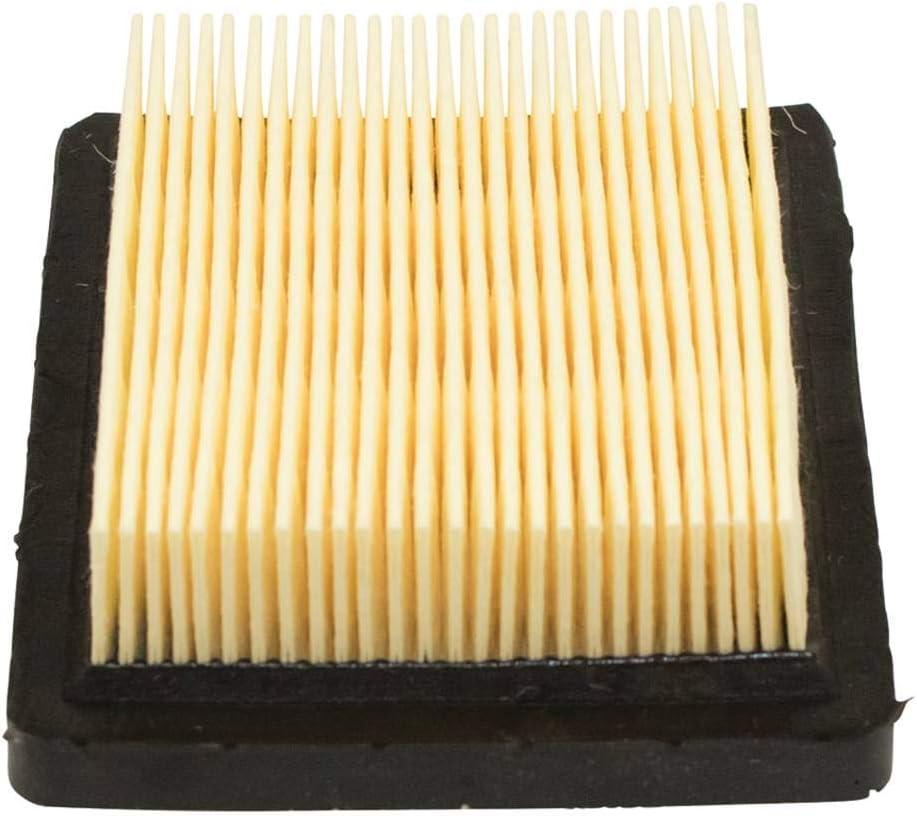 OxoxO 36046 Air Filter with 36634 Pre Filter Spark Plug Fuel Filter for Tecumseh Oh95 Oh195 Ohh50 Ohh55 Ohh60 Ohh65 Vlv50 Vlv55 Vlv60 Vlv66 Vlv126 4 5.5 Hp Engines