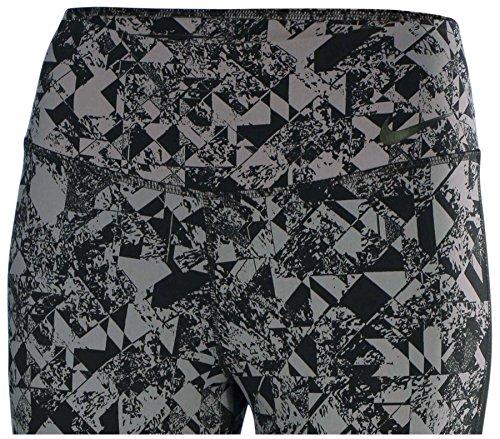 Nike Legendary de la mujer joyas Tight formación capris-cool gris/negro Gris/Negro (Cool Gris/Black)