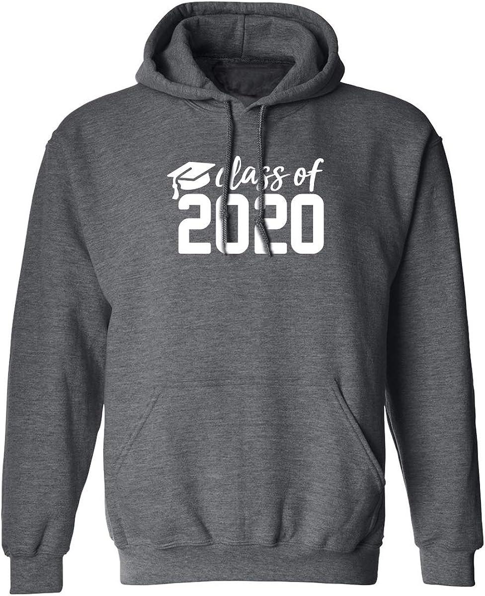XXXX-Large Class of 2020 Adult Hooded Sweatshirt in Dark Heather