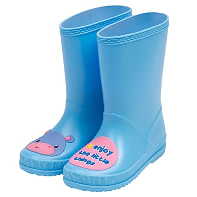 amazon com ubella children boys girls cute cartoon print rain