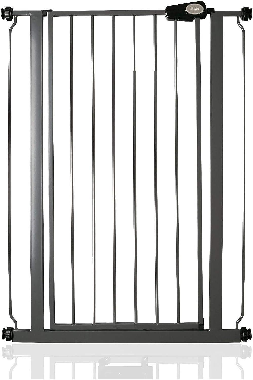 Safetots Extra Tall Matt Black Stair Gate Range 81.4cm - 89cm