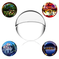 """SunAngel Crystalball Pro 70mm(2.75""""), Art Decor K9 Crystal Ball for Photography Decoration or Photography Accessory"""