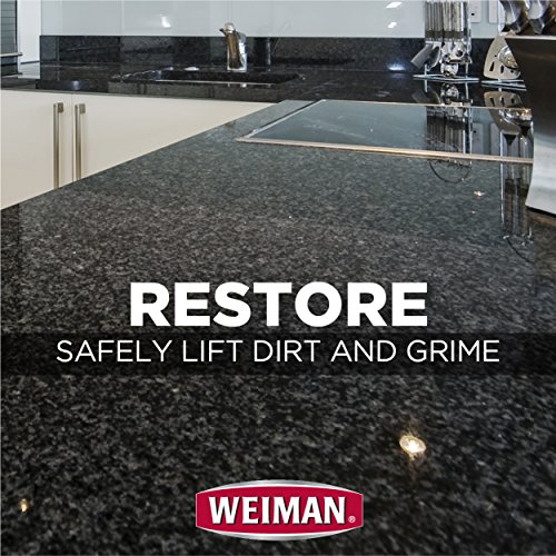 Weiman Granite Cleaner and Polish - 8 Ounce 6 Pack - For Granite Marble Soapstone Quartz Quartzite Slate Limestone Corian Laminate Tile Countertop and More by Weiman (Image #3)
