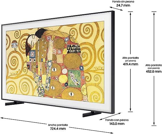 Samsung QE32LS03TBK QLED FHD 2020 - Smart TV de 32