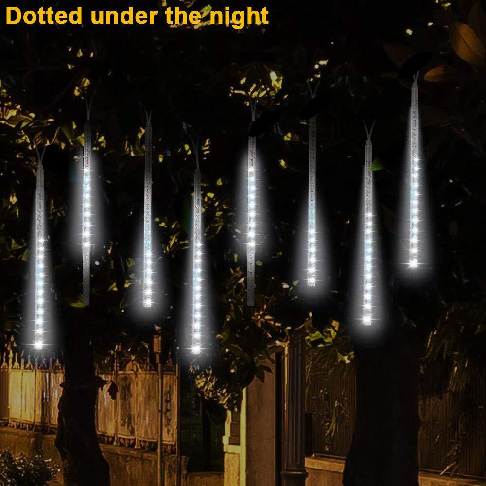 Fairy Lights, Prevently New Creative 1Pcs LED Lights Meteor Shower Rain Snowfall Xmas Tree Garden Outdoor Party Drecor Prevently Home