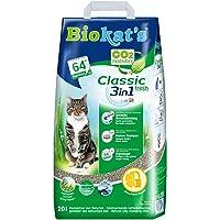 Biokat's Classic Fresh 3in1 Katzenstreu mit Frühlingsduft – Hochwertige Klumpstreu für Katzen mit 3 unterschiedlichen Korngrößen