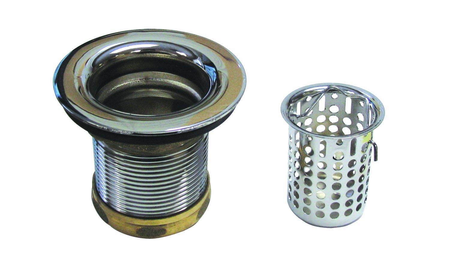 Westbrass D218 12 2 Inch Basket Sink Strainer Oil Rubbed Bronze Sink Strainers Amazon Com
