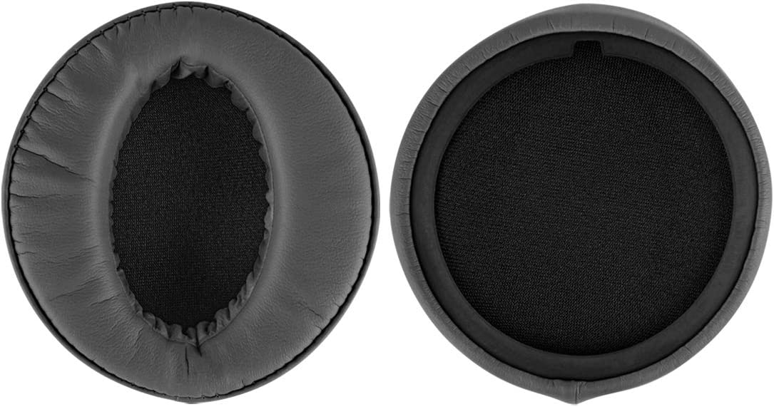 Geekria QuickFit Protein Leather Ear Pads for Sony MDR-XB950BT MDR-XB950B1 MDR-XB950//H Headphones Grey Headset Earpads Repair Parts Replacement Ear Cushion//Ear Cups//Ear Cover