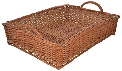 buy international cane furniture rectangular cane basket 48 cm x 33