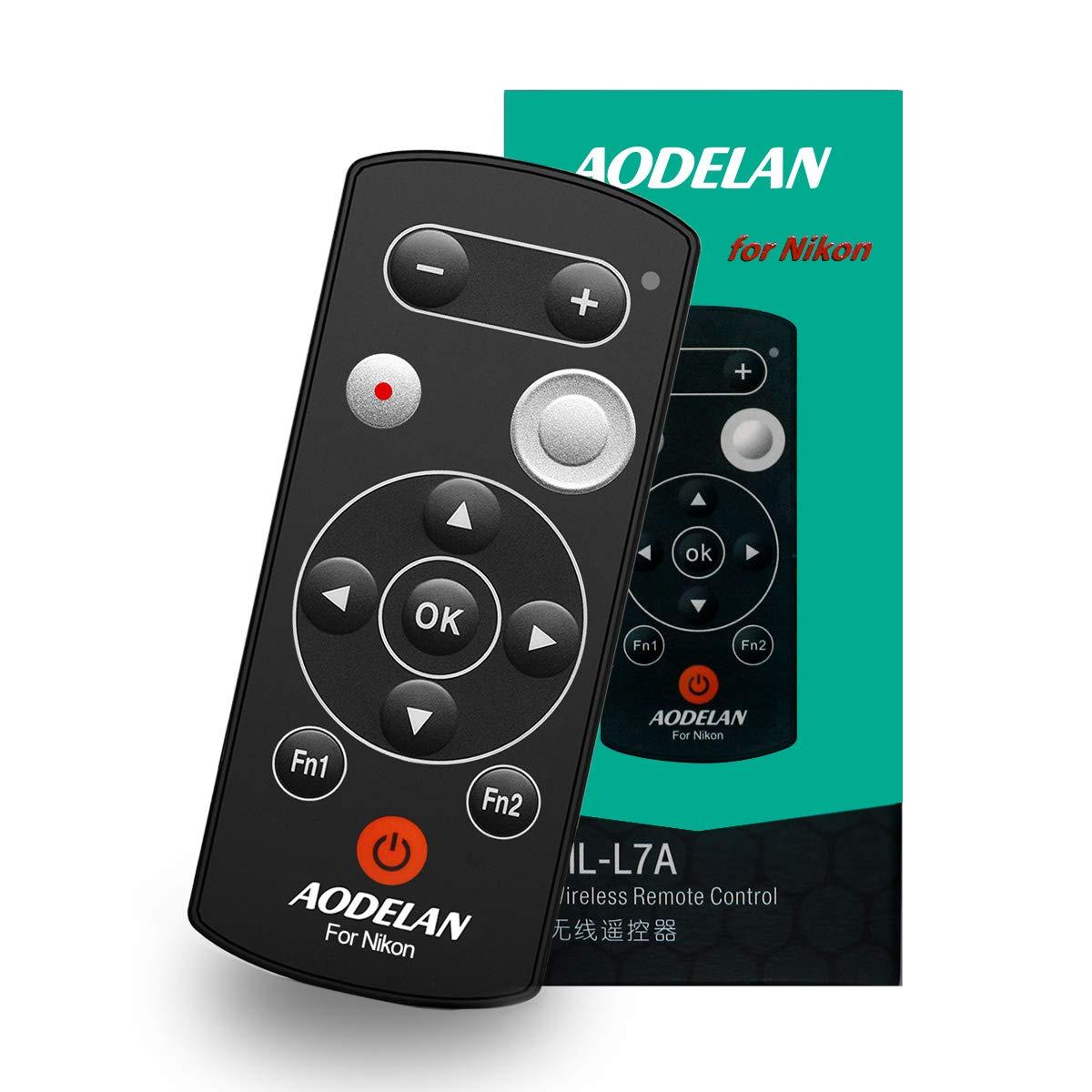 AODELAN Camera Remote Control - Wireless Shutter Release for Nikon B600 A1000 COOLPIX P1000, Replaces Nikon ML-L7