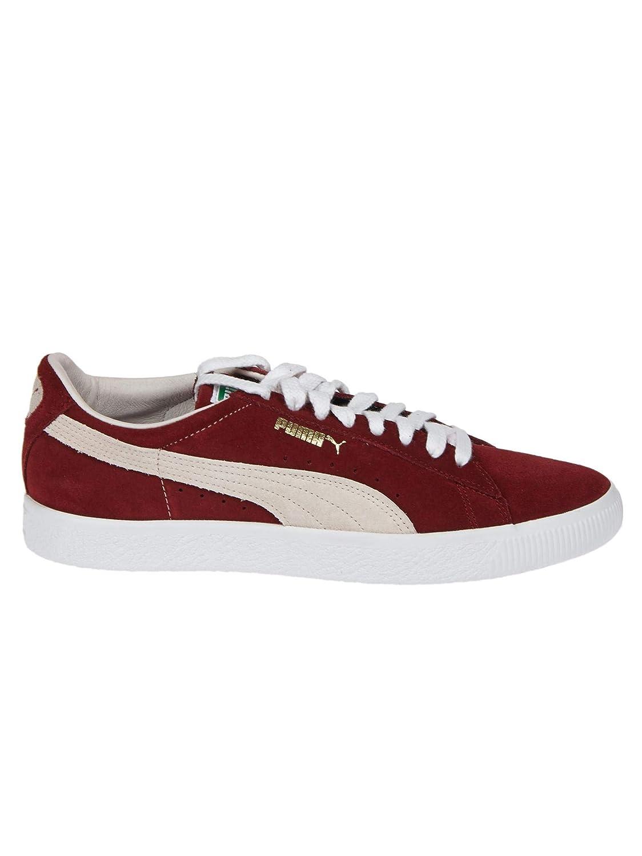 Puma Suede 90681 - Pomegranate-Whisper Weiß