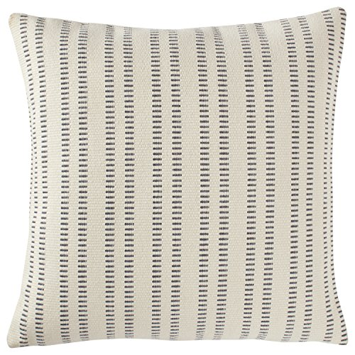 Stone & Beam French Laundry Stripe Pillow, 17