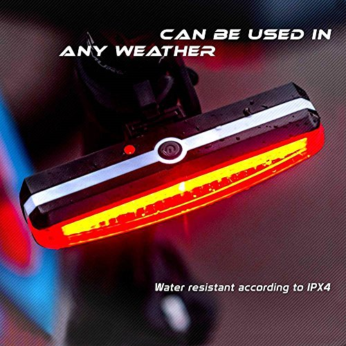 Bike USB Rechargeable Tail Light
