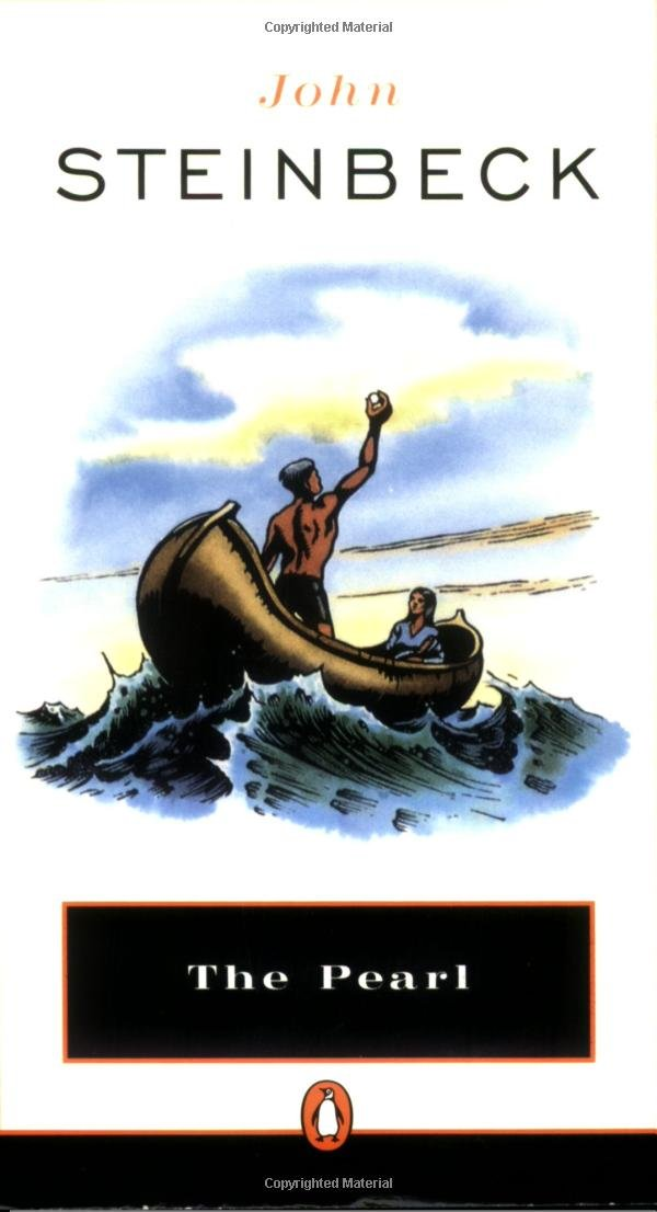 essay for the pearl john steinbeck John steinbeck's the pearl is a tale of a poor indian family who stumbles upon the greatest pearl in the world headed by a man named kino and his supporting wife juana, they both are determined to live a wealthy life no matter what the cost.