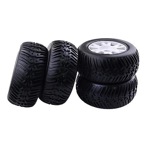 FLAMEER RC Neumáticos Rueda Recambio de Accesorios para 1/8 RC Coche Camión Redcat HPI