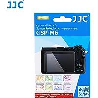 JJC GSP-M6 Ultra-thin LCD Guard Film Optical Glass Screen Protector For Canon EOS M6, PowerShot G9 X MarkII / G7 X MarkII / G5 X / G9 X
