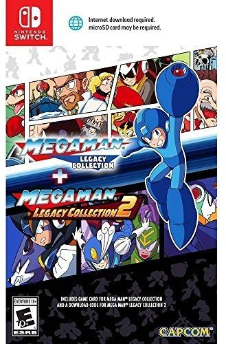 Mega Man Legacy Collection 1 + 2 - Nintendo Switch 30th Collection