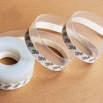 Window Sealing Tape Transparent Duct Tape Ultra High Performance Weather Resistant Tape for Discreet Repairs and Mounting Subtransparent