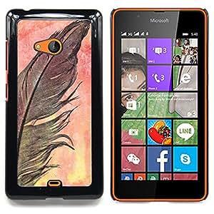 """Planetar ( Letra inicial del alfabeto de Chevron azul"""" ) Nokia Lumia 540 Fundas Cover Cubre Hard Case Cover"""
