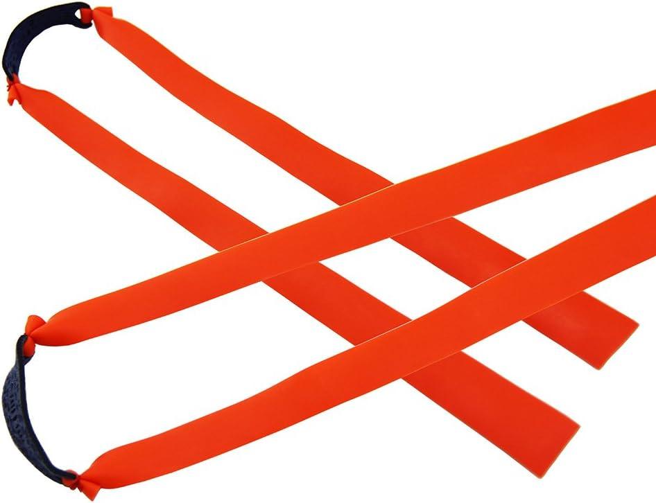 Mangobuy 10 bandas de gomas el/ásticas planas para tirachinas de madera para exteriores