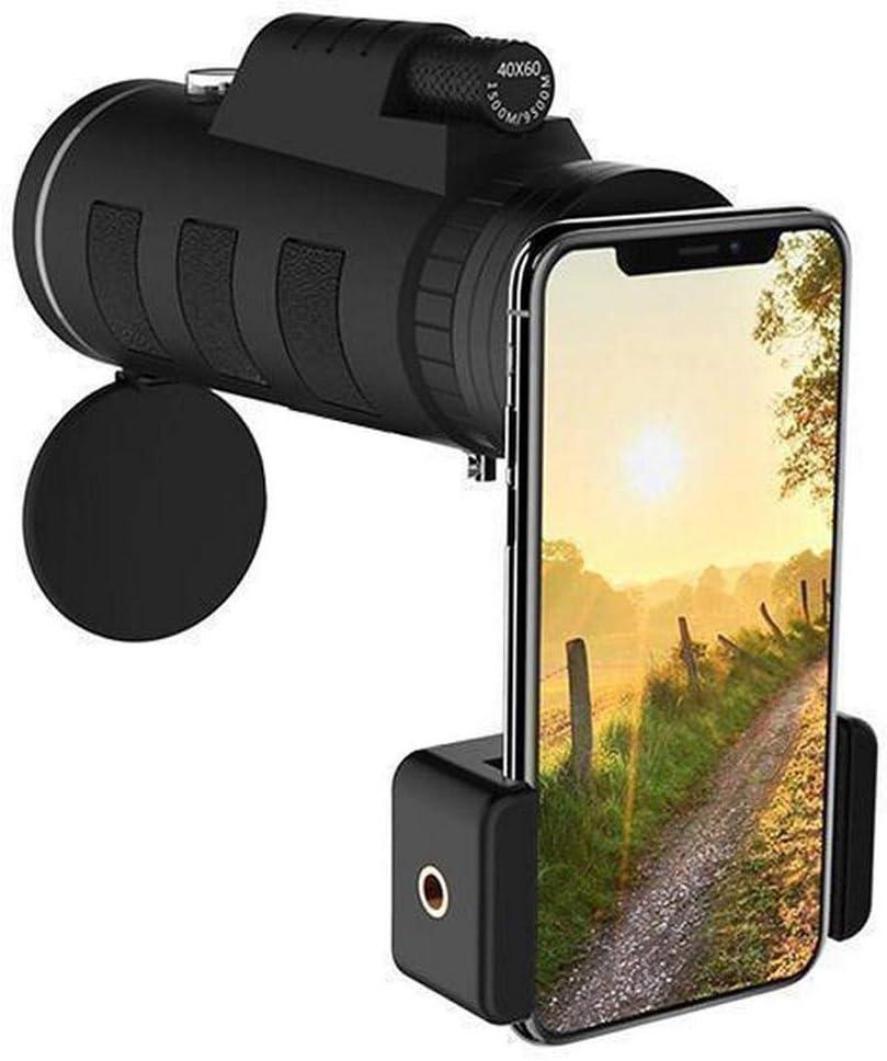 Benlet Mini Portable Durable 40 x 60 Monocular Telescope Outdoor Monocular Monoculars