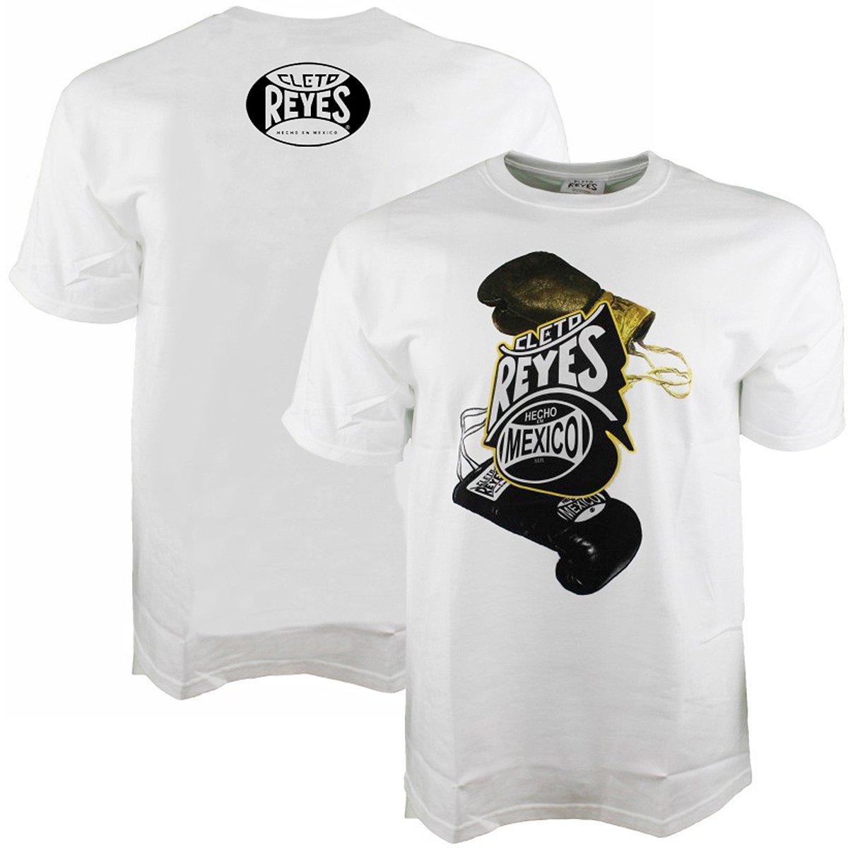 Cleto Reyes Printed Boxing Gloves T-Shirt White