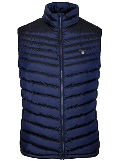 e3238e52821 Gant The Airlight Down Mens Vest: Amazon.co.uk: Clothing