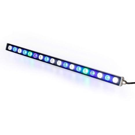 Roleadro® Led Acuario 54w,18 LEDs Lampara Acuario UV con Luz LED Acuario 55CM
